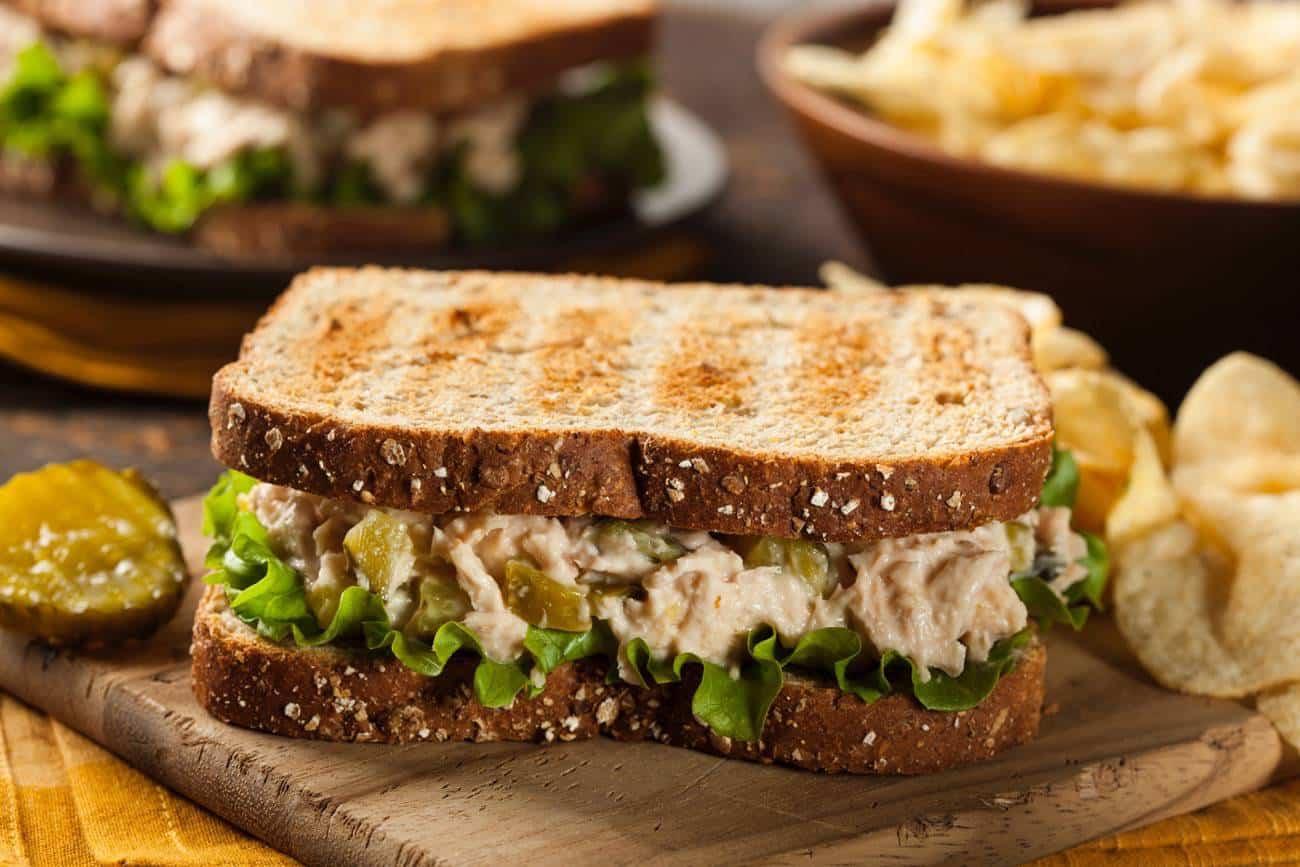 sandwich fresh de atún