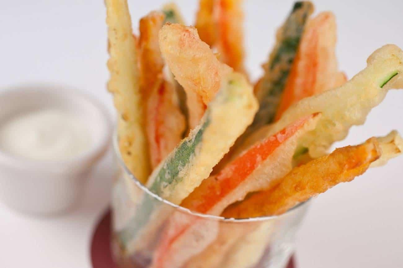 hacer una tempura