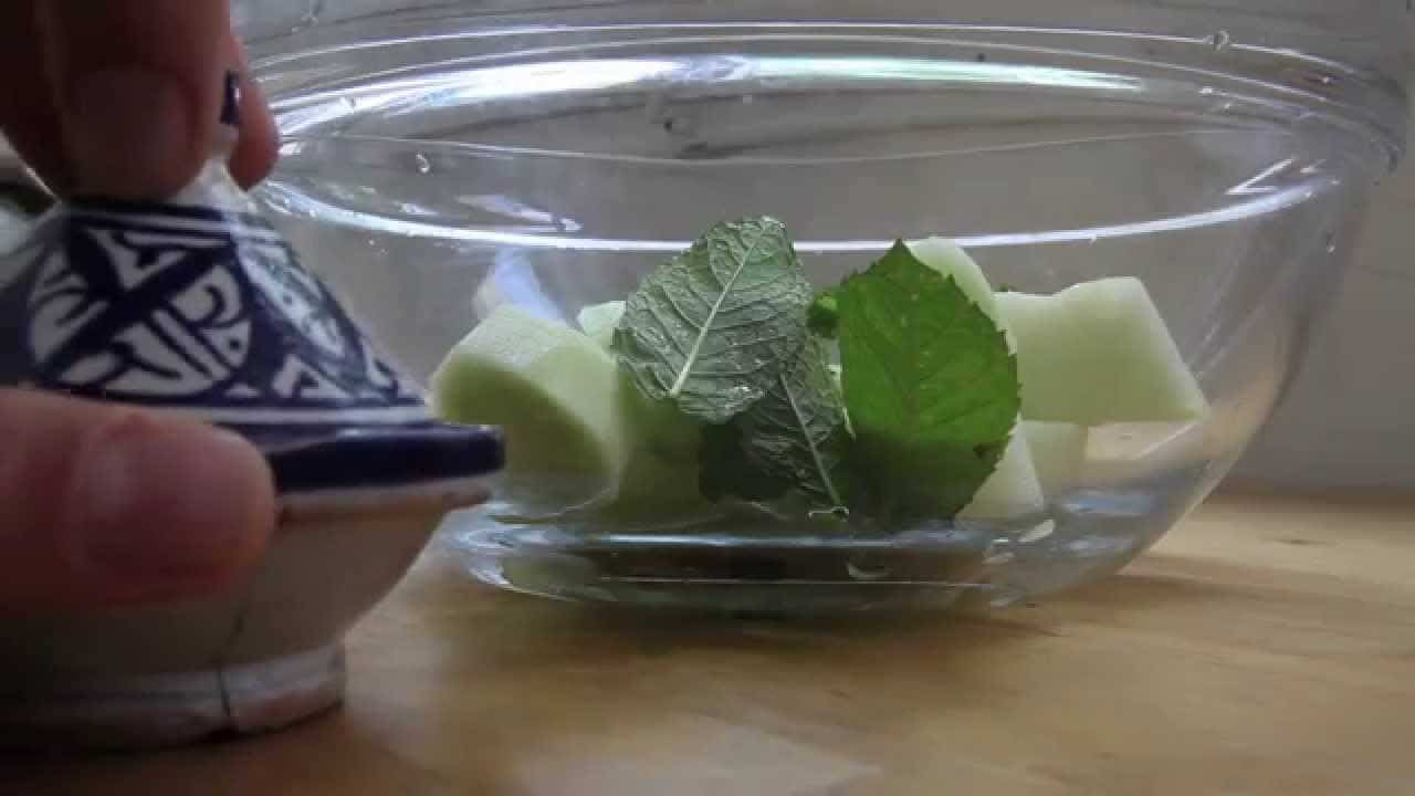 receta de melon al oporto