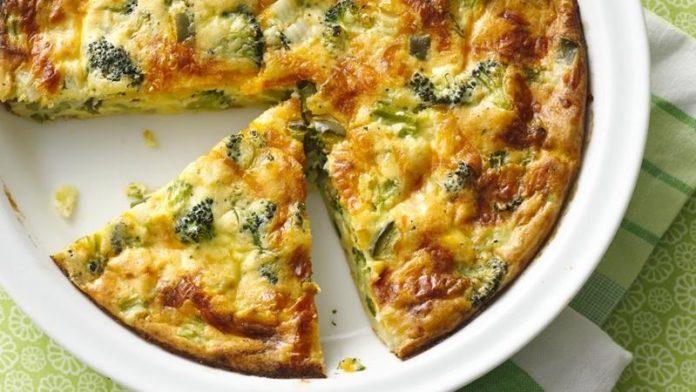 receta de pastel de verdura