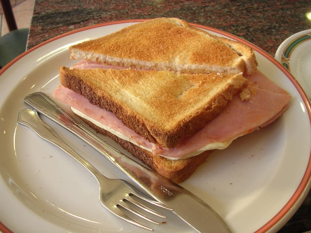 sándwich bikini