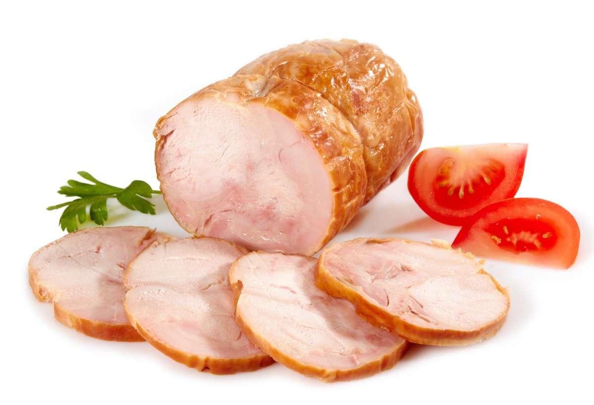 embutido de jamón y pollo