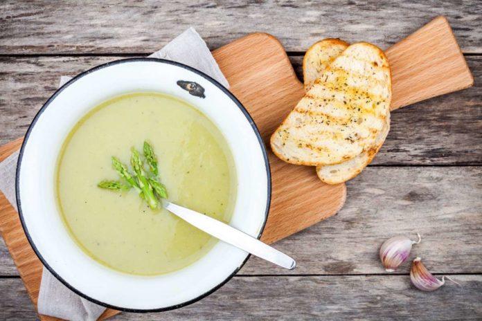 sopa de calabacin