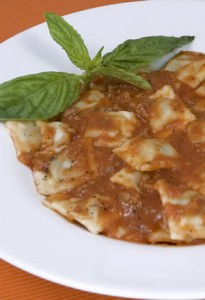 raviolis de carne