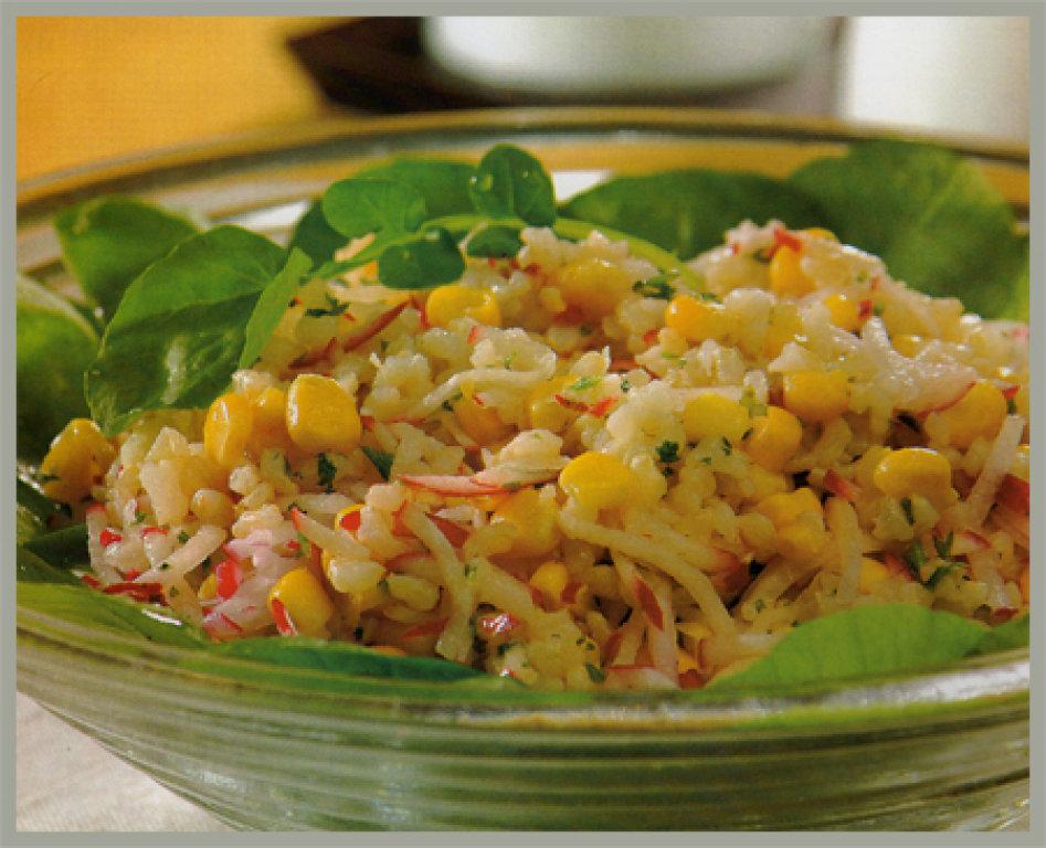 Ensalada de arroz integral solo recetas el blog de las for Ensalada de pasta integral