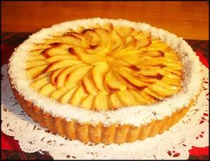 tarta de manzana y maiz sin gluten