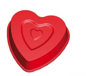 molde de corazón pequeño de lekue