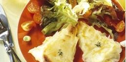 ensalada con queso de cabra
