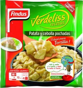 Verdeliss, patata y cebolla pochada