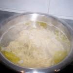 Cocemos la pasta