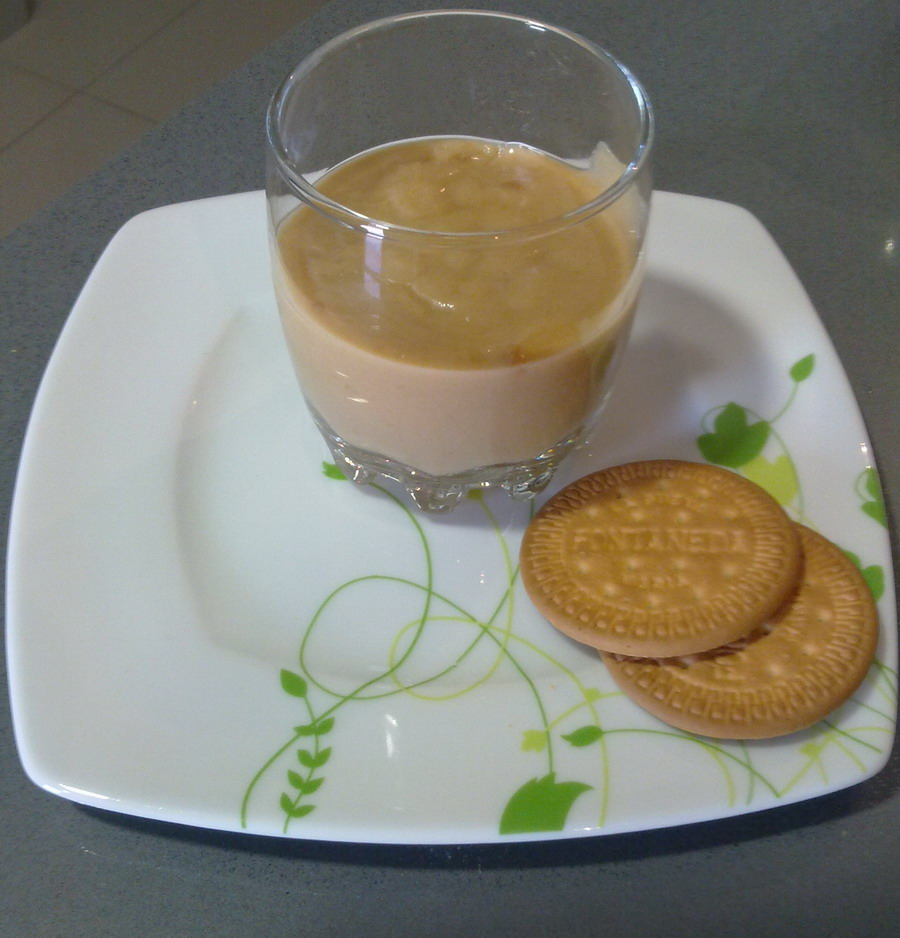 Yogur de Galleta maria