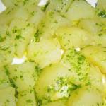 patatas con ajo y perejil