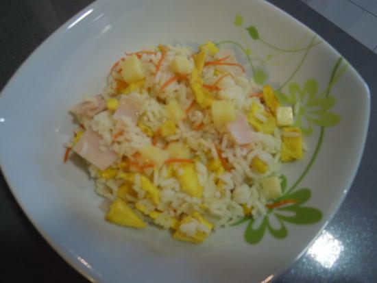 Ensalada de arroz Templada