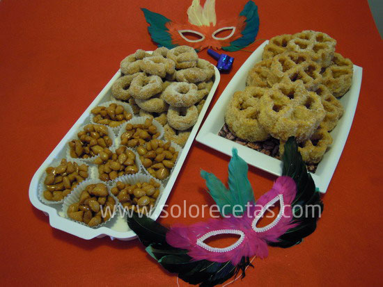 Dulces tipicos carnaval Herencia