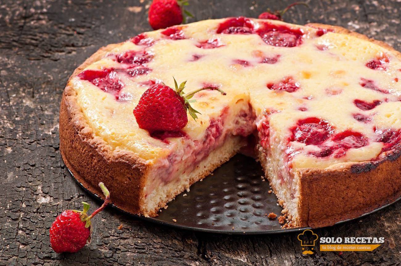 Cursos de pastelería - RECETA CON FRESAS - quiché de frasas
