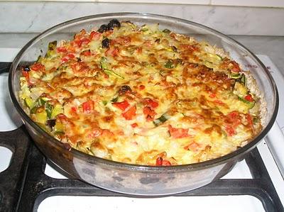 tarta de vegetales