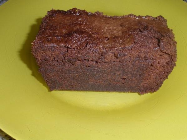 pastel de chocolate con licor café