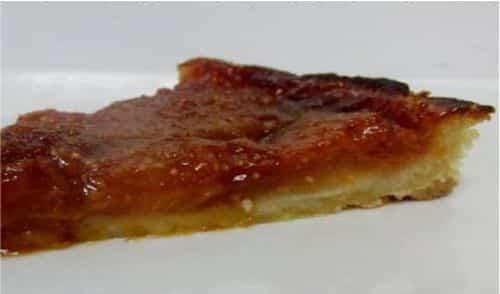 Receta fácil para tarta de higos en almibar