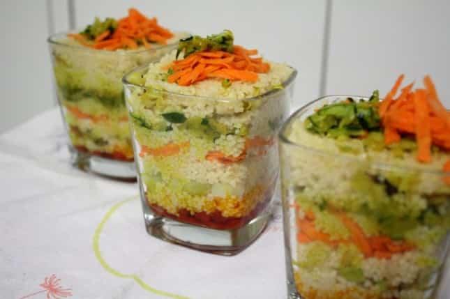 Receta de Arroz con verduras salteadas