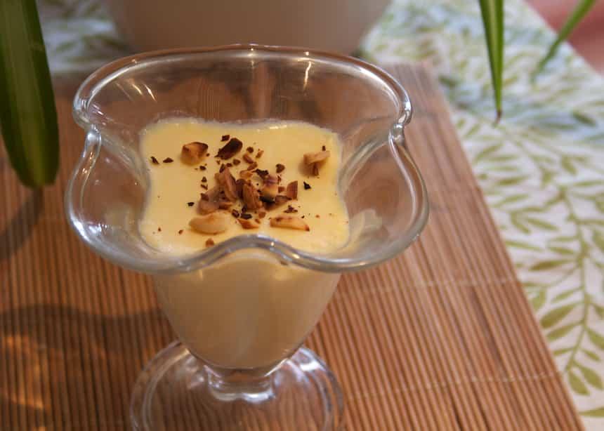 Receta de batido de chocolate blanco