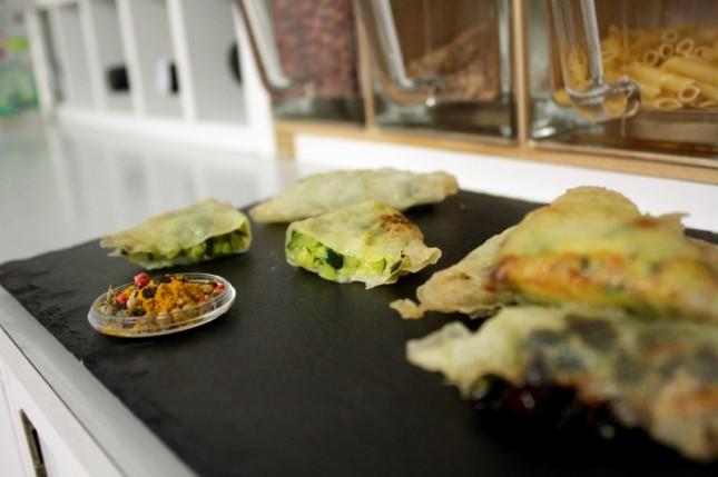 Receta de empanadillas de espinaca hindúes