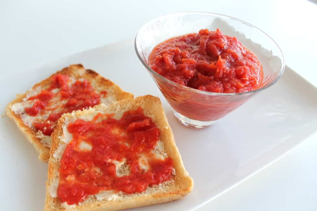 Receta de mermelada de tomates casera