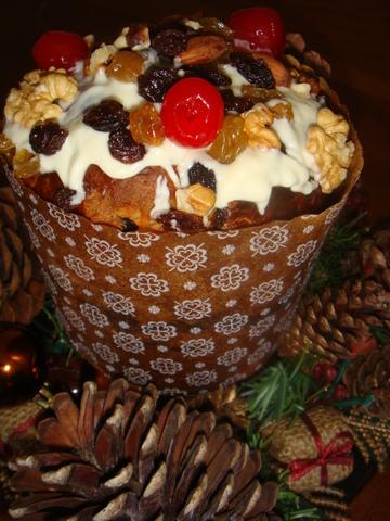 Receta de pan dulce navideño