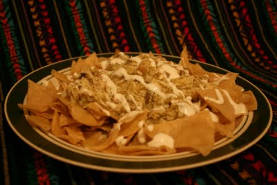 chilaquiles de pollo