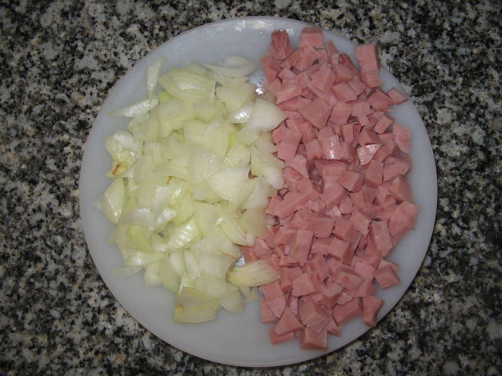 Receta de budín de jamón