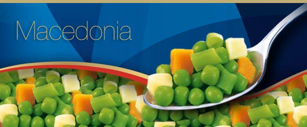 Receta de Budín macedonia de verduras