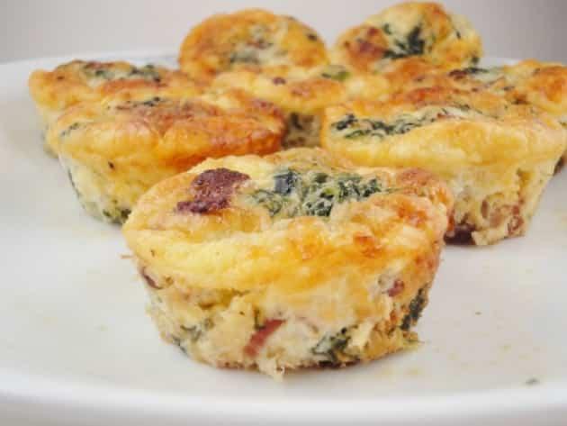 Receta de muffins de zuchini y queso