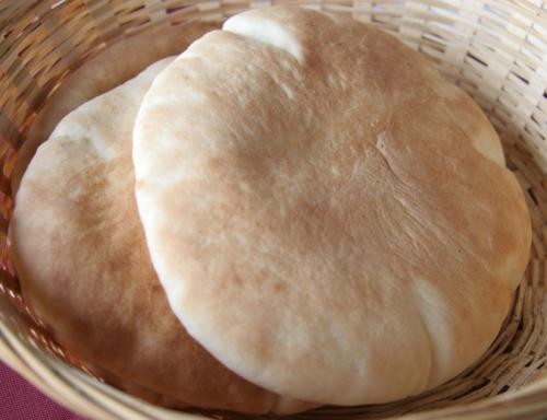 Prepara pan árabe o pan de pita