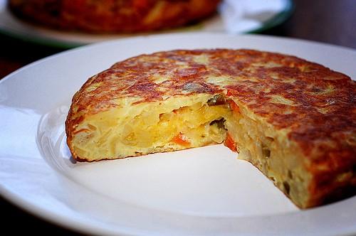 Receta de tortilla de patata a la española