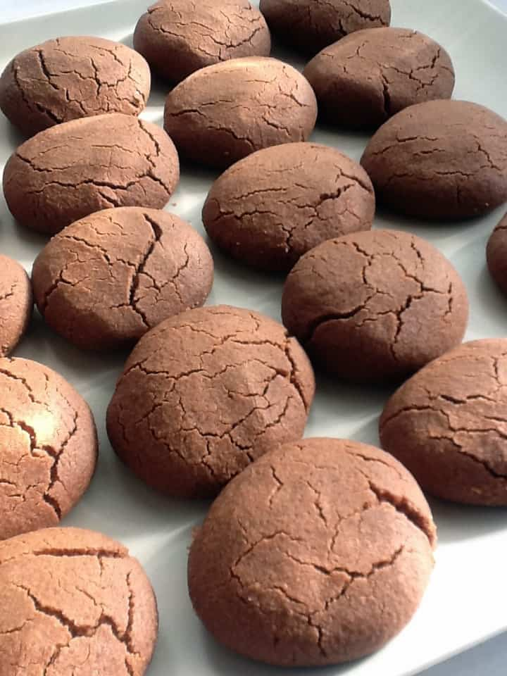 Galletitas de chocolate para celiacos