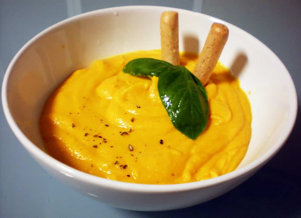 Dip de mayonesa de zanahoria