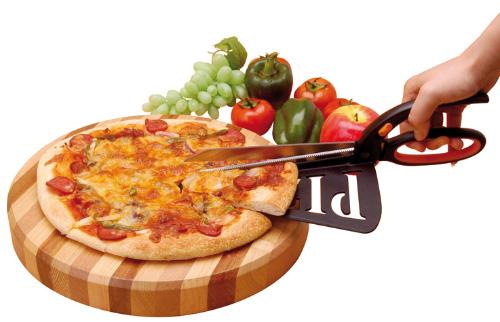 tijera pizza espatula
