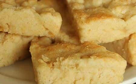 Receta de scones de manzana