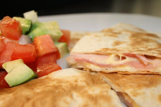 quesadillas jamon y queso