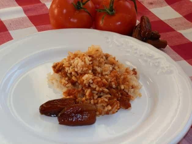 Receta de arroz a la bolognesa