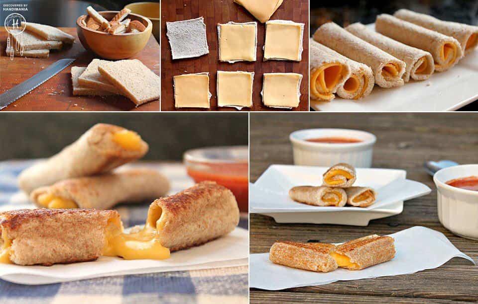 Receta de rollitos de pan