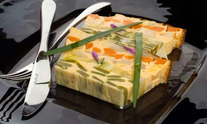 Receta de terrine de verduras