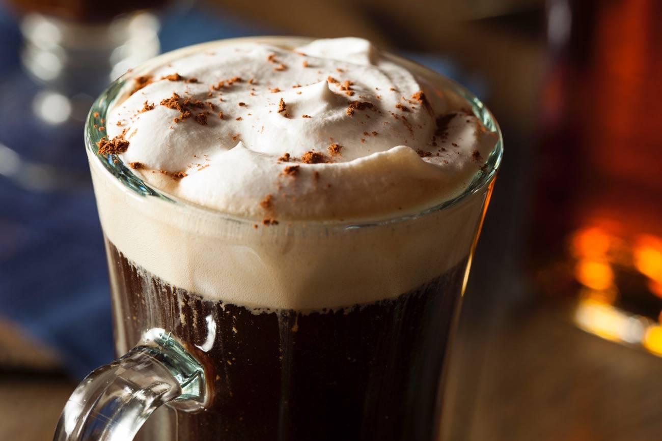 auténtica receta café irlandés