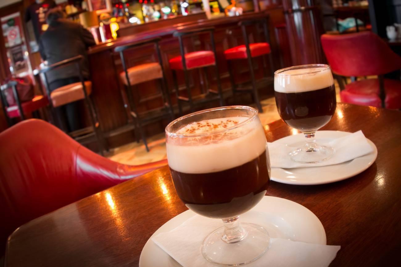 cafe irlandés