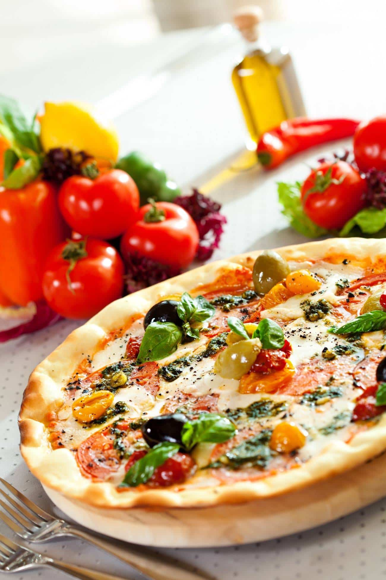 receta de pizza vegetal 4