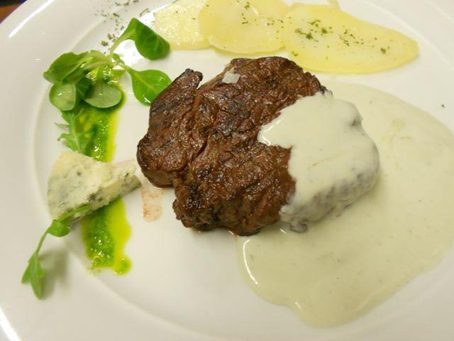 salsa roquefort para solomillo