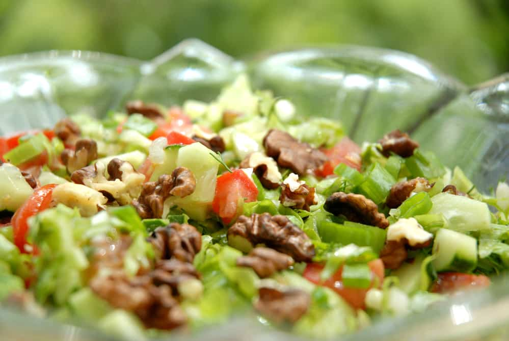 ensalada frutos secos