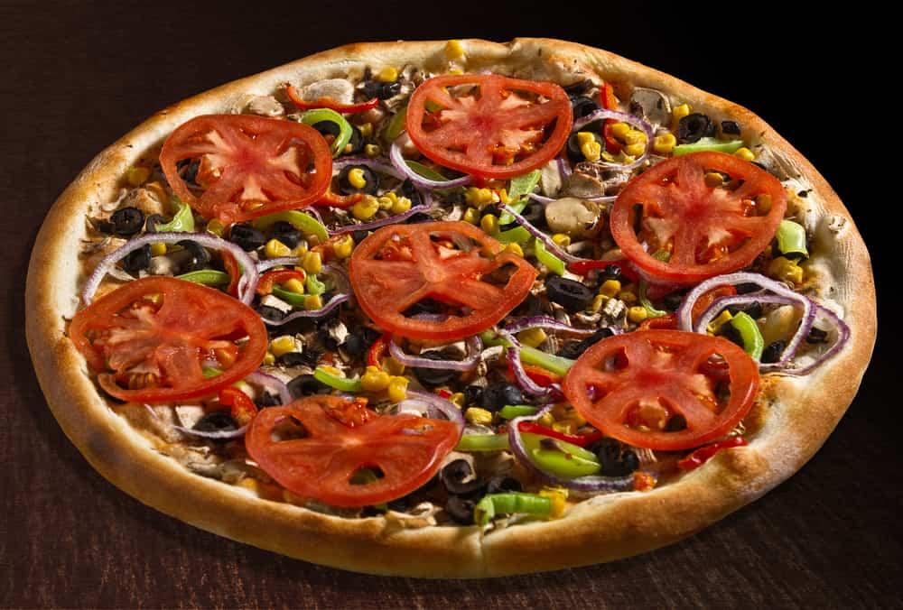 receta de pizza ensalada