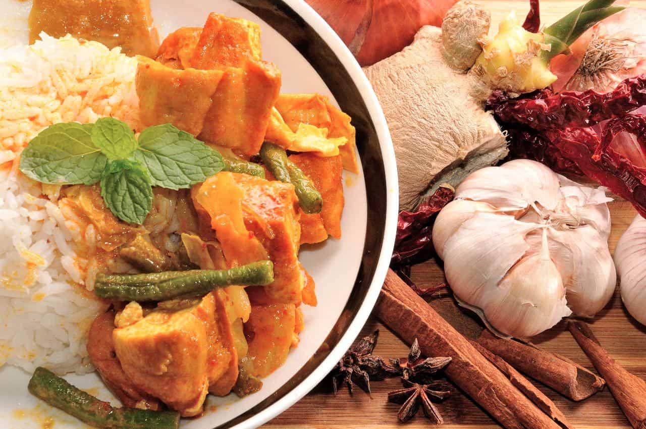arroz curry