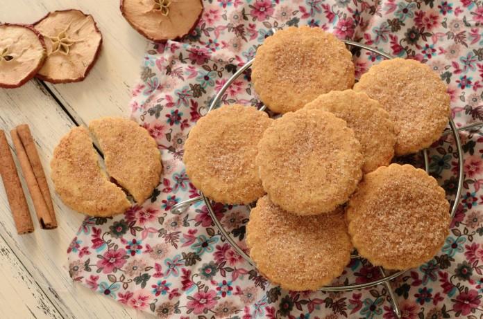 galletas de manzana desayuno