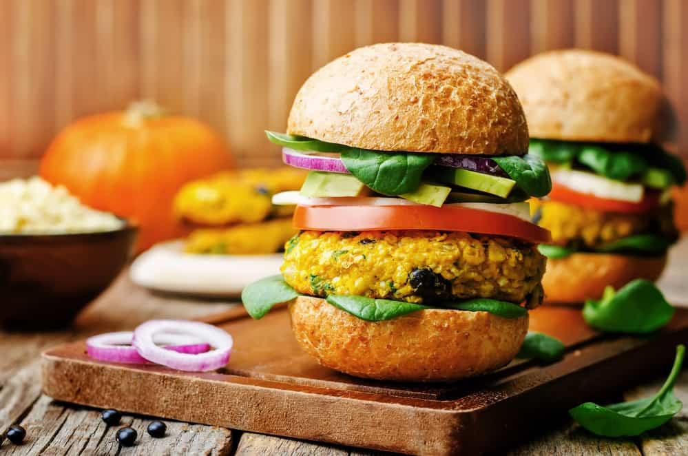 hamburguesas espinacas